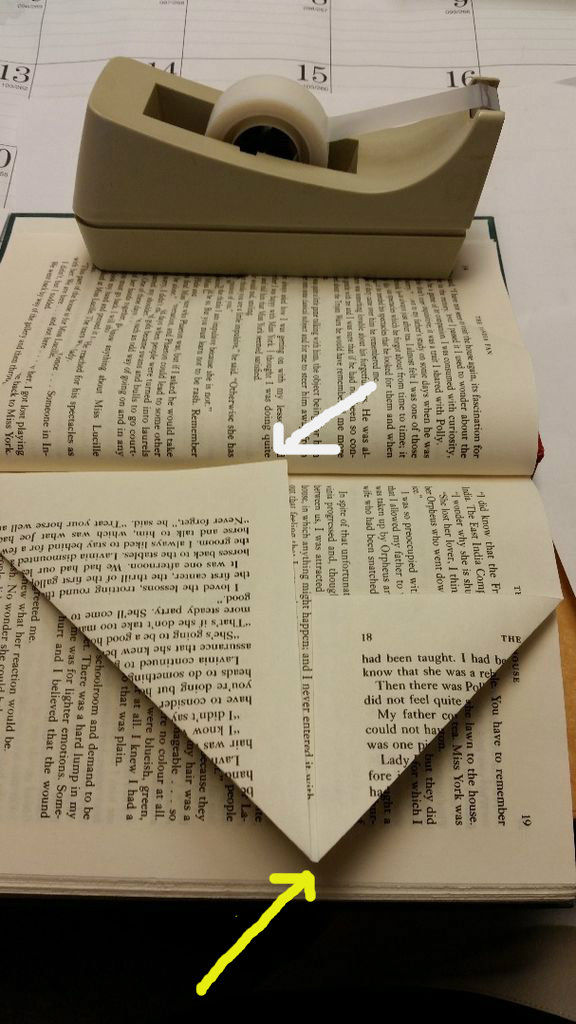 Gefaltete Book Art Tutorial