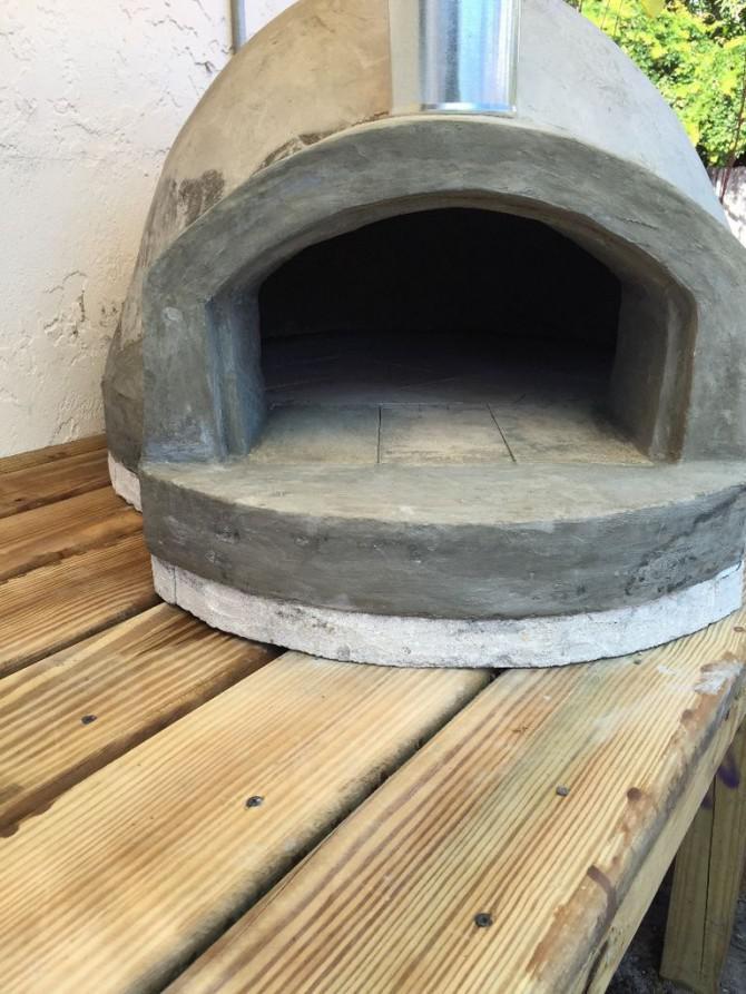 Meine $ 135 Holz Pizzaofen!