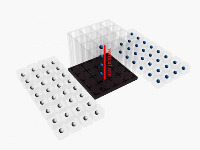 4cubed - 3d gedruckt connect4 in 3 Dimensionen!  (Dateien angehängt, um Ihren eigenen)
