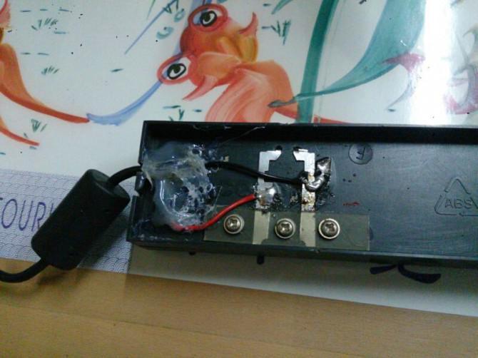 DIY Sony Xperia Z Tischladestation