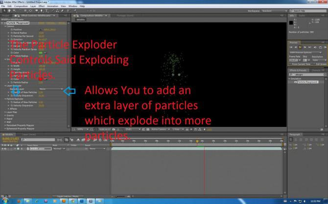 Wie Partikelsimulation in Adobe After Effects