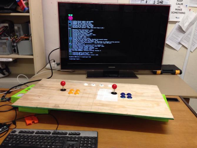 Kinder errichten - Raspberry Pi Arcade Cabinet