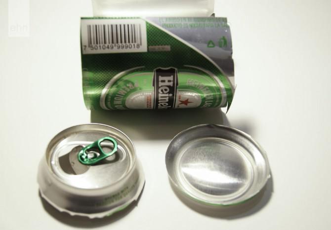 DIY falsche Nägel: Getränkedose Nägel