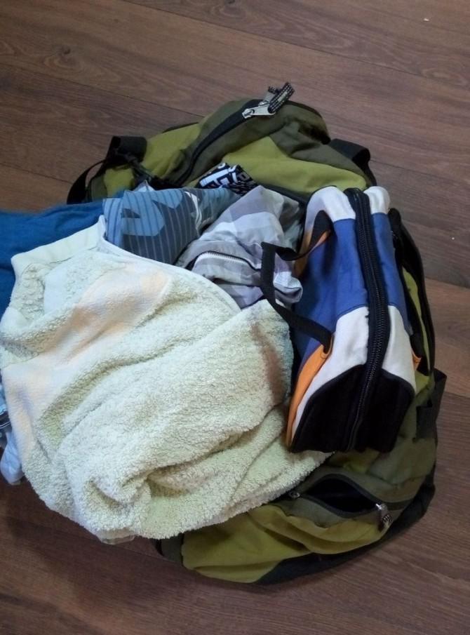 Effiziente Verpackung (oder wie Sie Ihre Tasche ohne Aufwand zip)