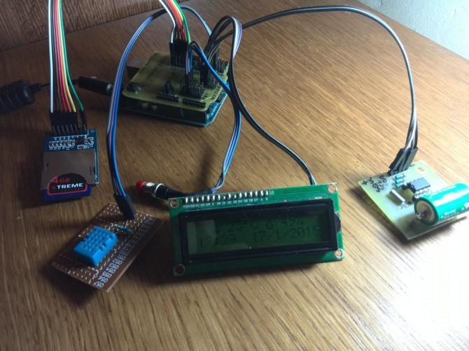Arduino Temperatur- und Feuchtelogger mit DHT11 und I2C Display