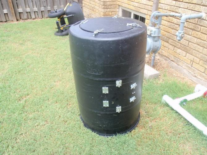 Roll Compost Drum