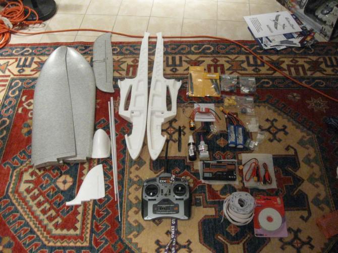 Der Aufbau eines UAV Basis