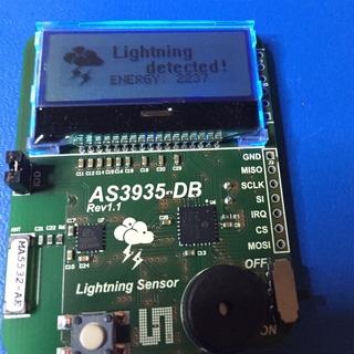 Blitz!  The Lightning Detector für Raspberry Pi Wetterstation
