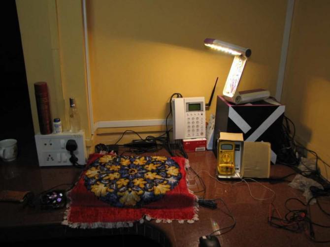 Mache einen langweiligen alten Tischleuchte in 2800 Lumen LED Blaster