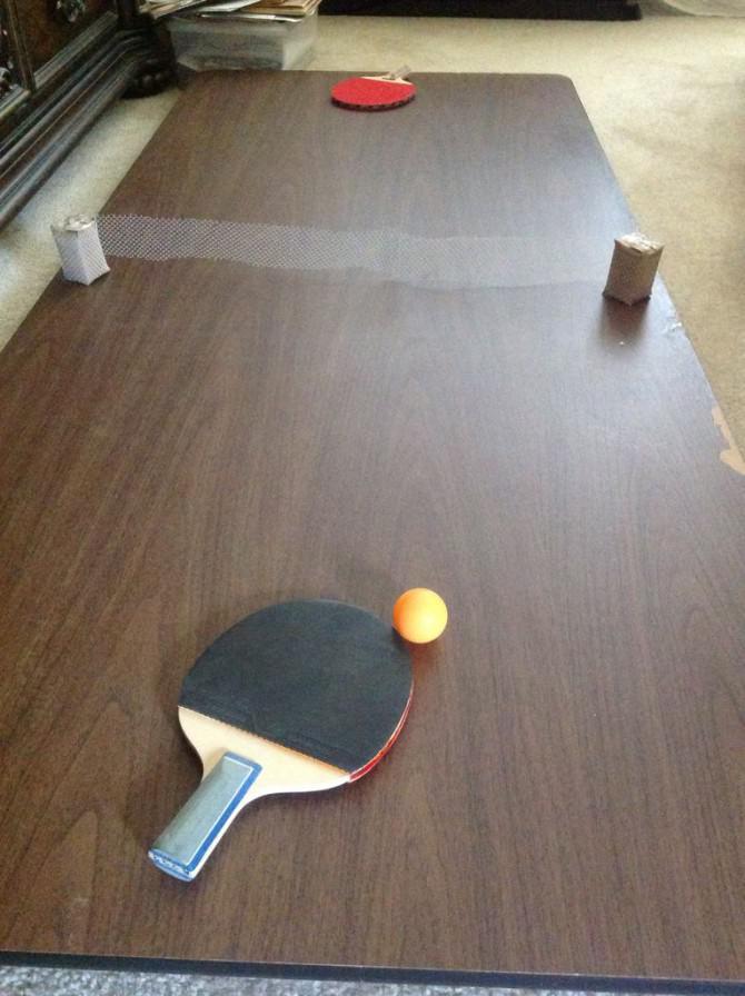 Tragbare Ping Pong