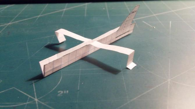 Wie man die Super Voyager Paper Airplane