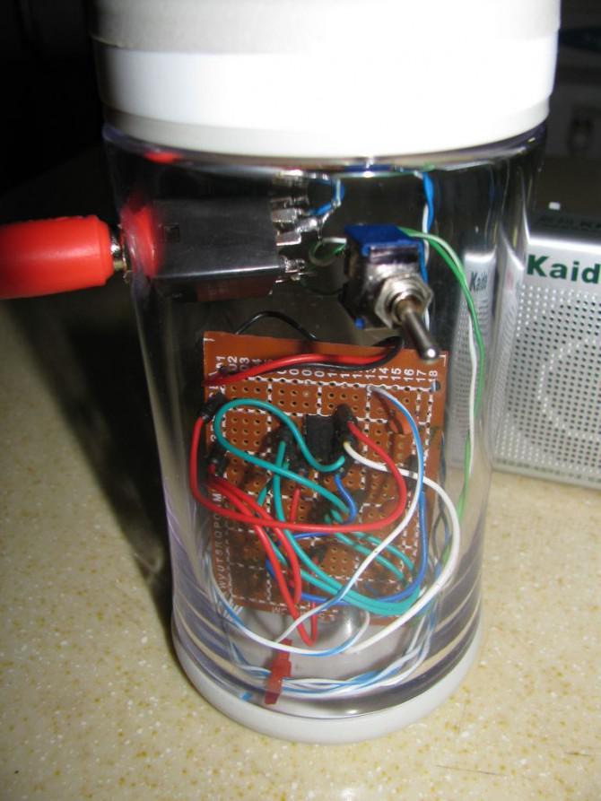 Zwei Morse-Code AM Sender - Aktualisiert Januar 2014