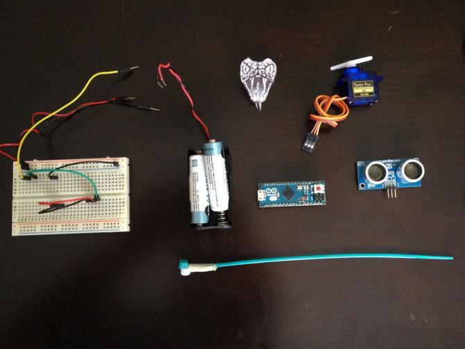 Arduino King Cobra Spiel