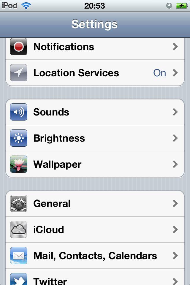 Wie Sie Ihren iPod sicherer.