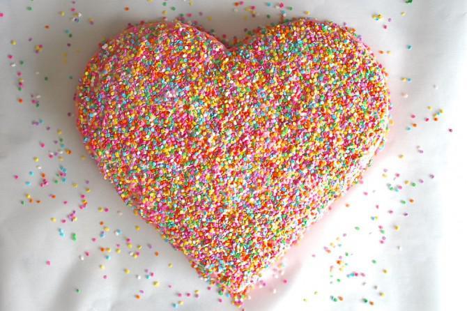 Wie Man Ein Herz Kuchen Zu Machen