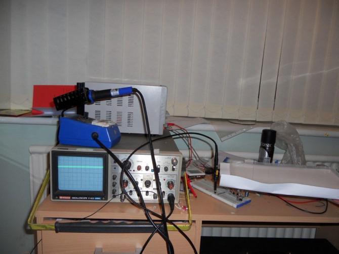 Hausgemachte infrarot entfernungsmesser Ähnlich wie bei sharp gp d