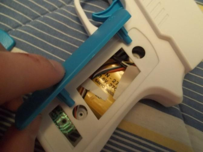 Fügen Sie ein Mündungsfeuer zu einem perfekten Schuss Nyko Wii Griff