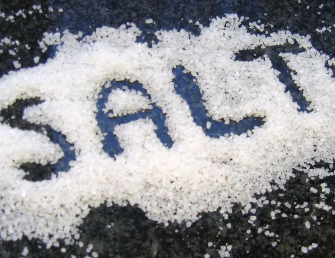 Entschlüsselung der Art der Zugabe von Salz