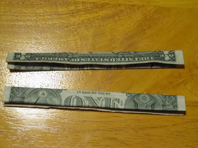 Wie man ein Dollar-Band-Ring machen