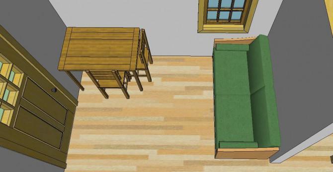 Thoreau Off-Grid Cabin Design Unter $ 1.000
