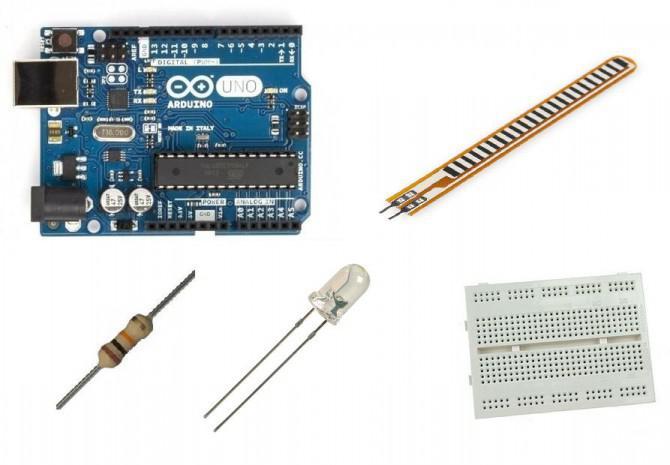 Wie man ein Flex-Sensor verwenden - Arduino Tutorial