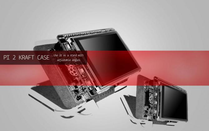 Raspberry Pi 2 Kraft-Kasten