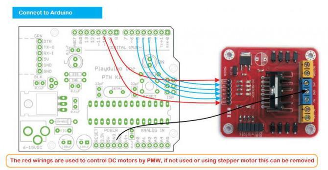 Arduino-Module - L298N verdoppeln H-Brücke Motor Controller