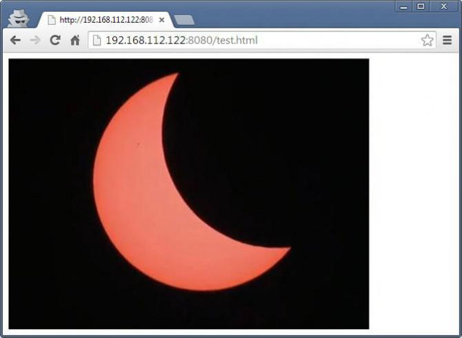 20. März 2015 - Wie man die Sonnenfinsternis auf eine Website mit einer USB-Webcam (C # Quellcode) Stream