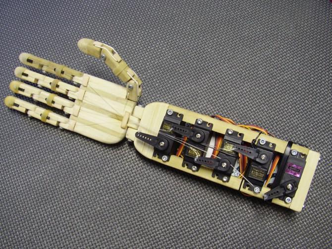 Arduino Animatronic Hand Mark 1