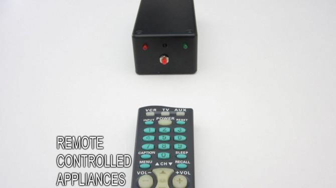 Kontrolle Jeder Schaltkreis Mit Einer Tv Fernbedienung Und Ein Arduino