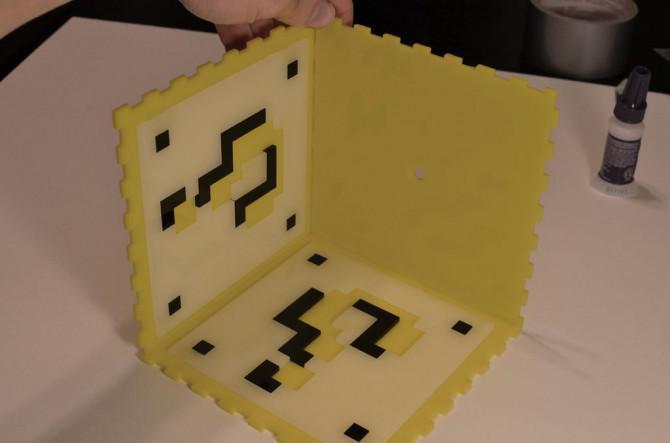 Bauen Sie ein Super Mario Brothers Münze Block Lamp