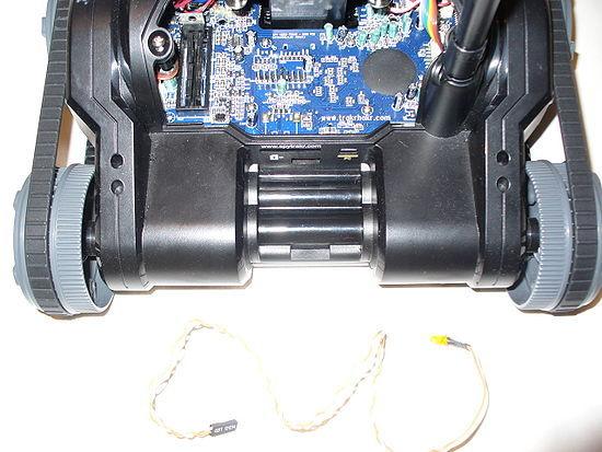 Hacking the Spy Video Trakr III: Machen Sie eine Grabber Bot Von Legos, Schnapp Circuits, und das Spy Video Trakr