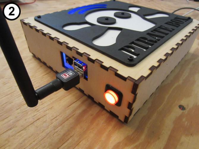 Raspberry Pi PirateBox