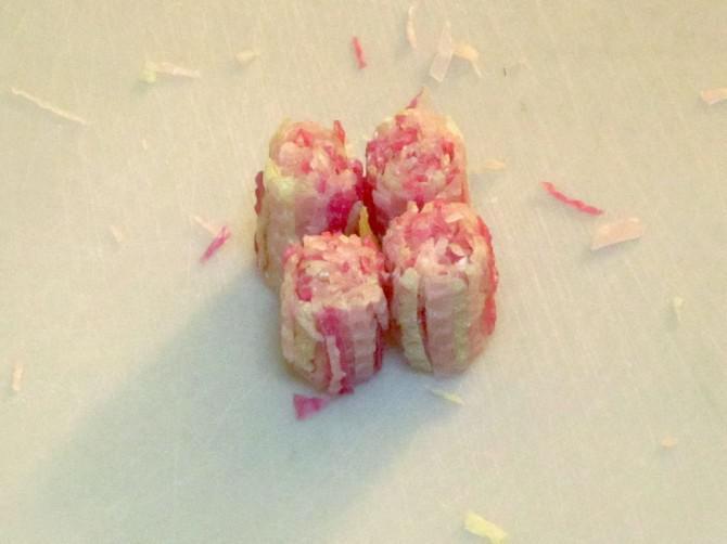 Bienenwachs-Kerzen Sushi