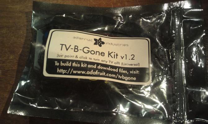 Schalten Sie ein TV-B-Gone in einen Super Kamera-Fern!