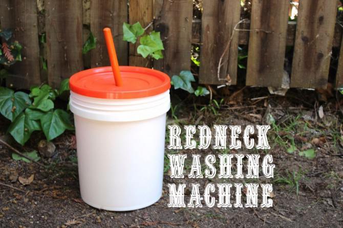 Redneck Waschmaschine