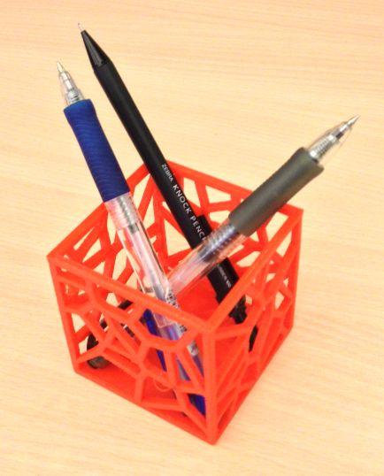 Wie TinkerCAD verwenden, um einen Stifthalter machen