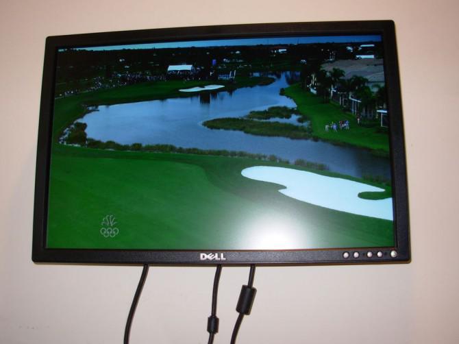 Verwenden Sie einen LCD-Monitor als TV ohne Computer