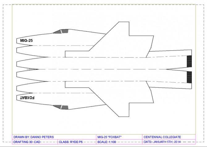 GIANT!  Fliegen!  :) MIG-25 Foxbat