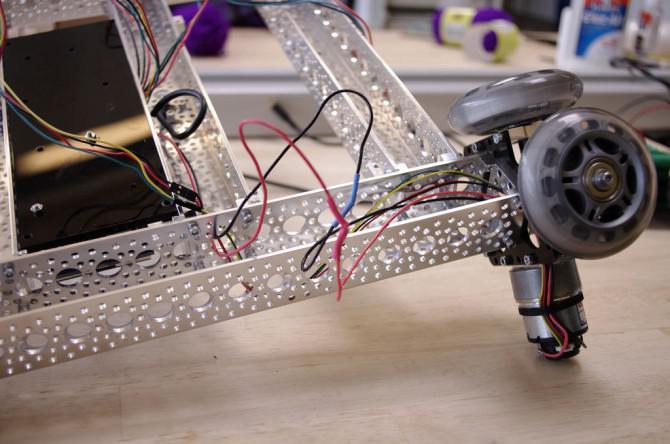 Robotic Kamera-Transportwagen-System