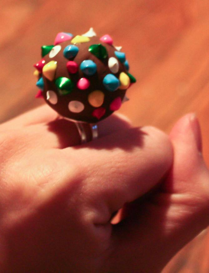 Candy Crush Farbe Bomb Ringe