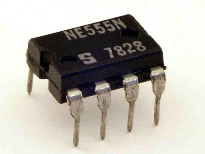 Automatisches LED-Nachtlicht (mit 555-Timer)