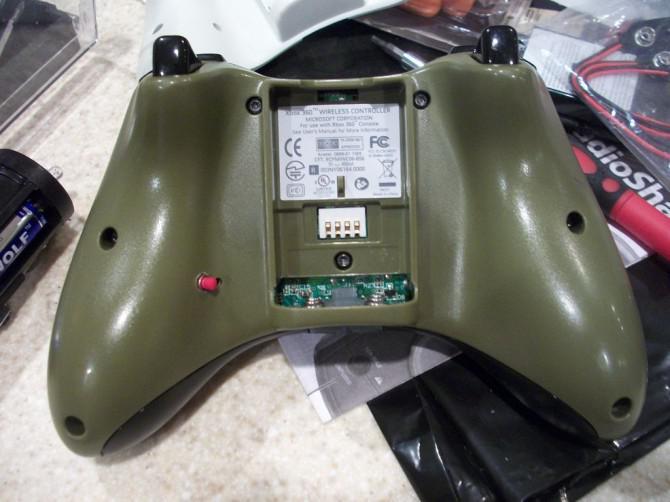 Bewegen Sie Tasten auf der Xbox Steuerung