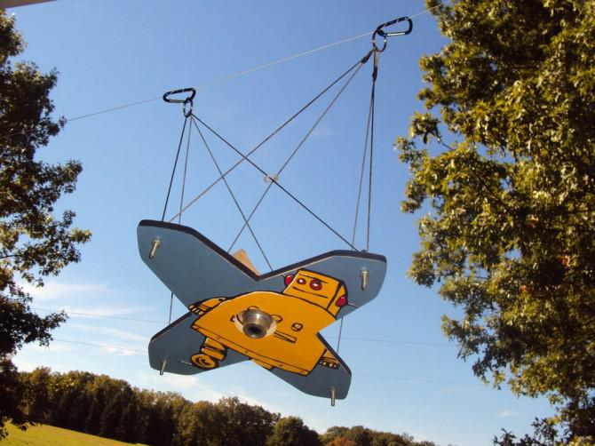 Kite Aerial Photography Picavet System - Spaß, einfach und leicht zu bauen!