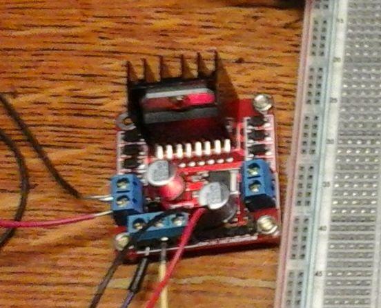 Raspberry PI L298N verdoppeln h-Brücke DC Motor