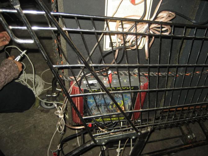 Wie man ein shopping-cart-Sound-System für die Straßenfeste machen