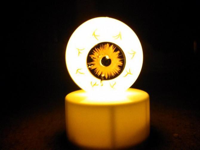 Dollar Store Glowing Eye