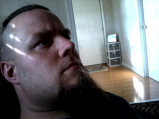 Beard zu Pinsel malen