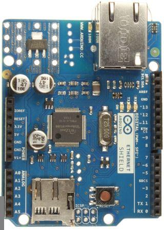 Steuer Arduino Board Funkübertragung Mit dem iPhone, iPad oder iPod Mit iArduino App und Ethernet-Schild