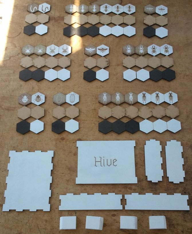 Hive-Spiel mit Box